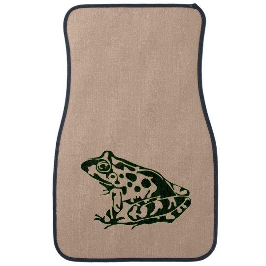 Green Frog Car Mat