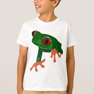 Green Frog Cartoon T-Shirt