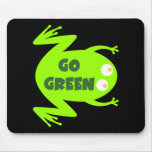 Green Frog Ecology Gift Mouse Pad