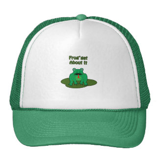 Green Frog - Frog Get About It Hats