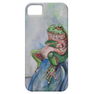 Green frog iPhone SE + iPhone 5/5S, Barely There iPhone 5 Cases