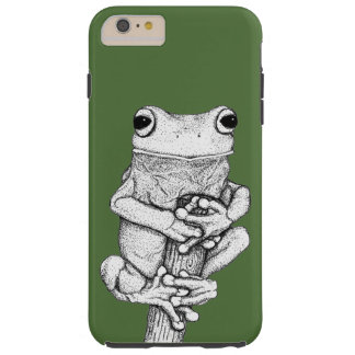 Green Frog on a Case Art by Skye Ryan-Evans ©