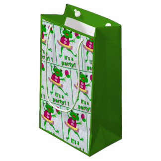 Green Frog Party Gift Bag for any Party occasion
