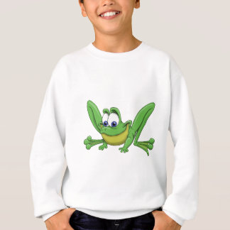 GREEN FROG SWEATSHIRT