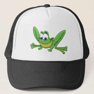 GREEN FROG TRUCKER HAT