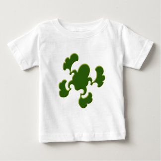 Green Froggy Design Baby T-Shirt