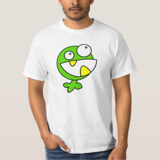 Green funny monster animated creature shirt