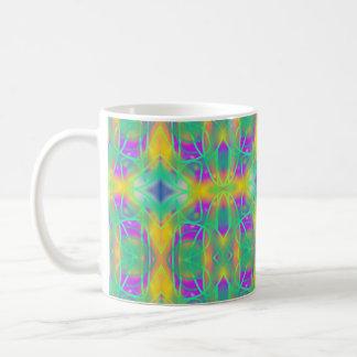 Green Fuzz Doodle Coffee Mug