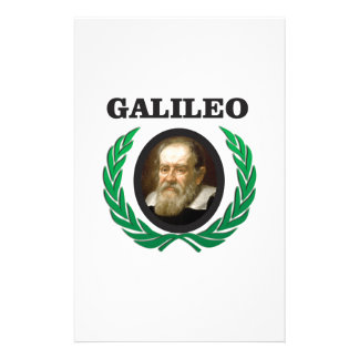 green galileo personalized stationery