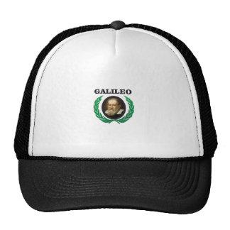 green galileo trucker hat