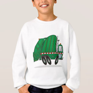 Green Garbage Truck Sweatshirt