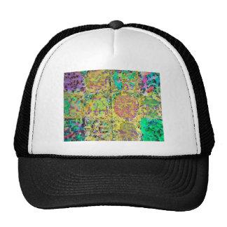 Green Garden - 12 Hidden Reiki Signs V3 Trucker Hat