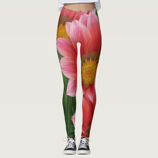 Green Garden Leggings