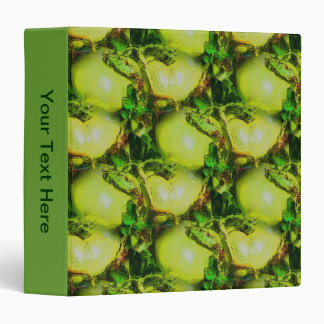 Green Garden Tomatoes Nature Art Vinyl Binder