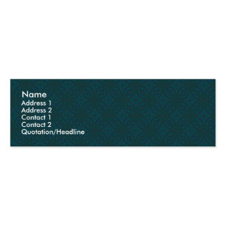 Green Geometiric | Mini Business Card