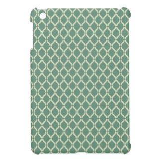 Green Geometric Pattern Case For The iPad Mini