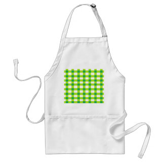 Green Gingham Aprons