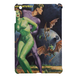 Green Girl vs Duck Bats iPad Mini Covers