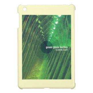 Green Glass Bottles Cover For The iPad Mini