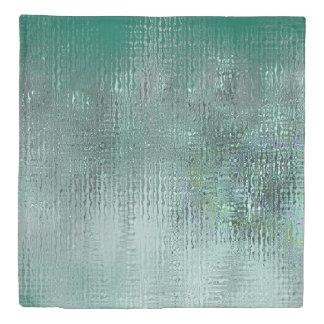 Green Glass Duvet Cover