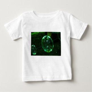 Green Glass Raindrop Baby T-Shirt