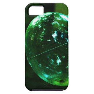 Green Glass Raindrop Case For The iPhone 5