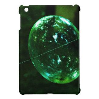 Green Glass Raindrop iPad Mini Cover