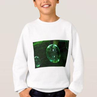 Green Glass Raindrop Sweatshirt