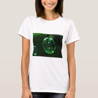 Green Glass Raindrop T-Shirt