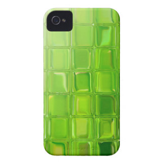 Green glass tiles iPhone 4 case