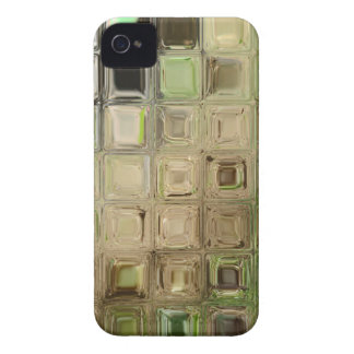 Green glass tiles iPhone 4 cover