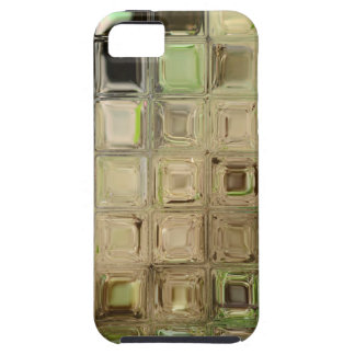 Green glass tiles iPhone 5 cover