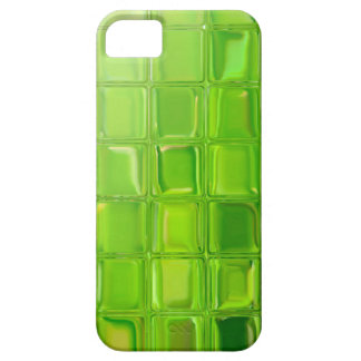 Green glass tiles iPhone 5 covers