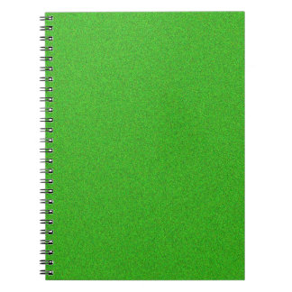 Green Glimmer Notebooks