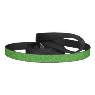 Green Glimmer Pet Leash
