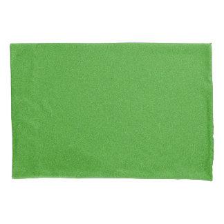Green Glimmer Pillowcase