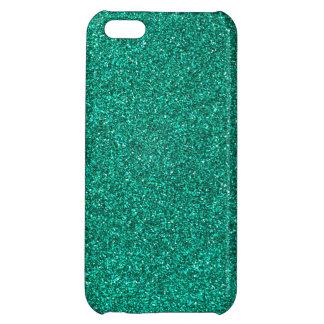 Green Glitter iPhone 5C Cover