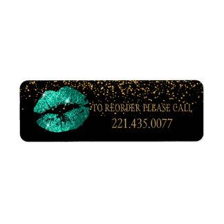 Green Glitter Lips - Reorder