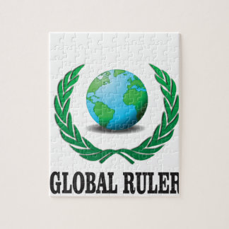 green global ruler puzzle