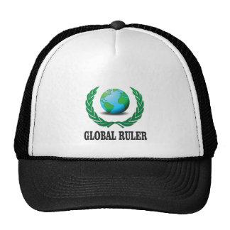 green global ruler trucker hat