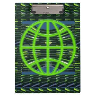 GREEN GLOBE ClipBoard NVN270 Earth friendly