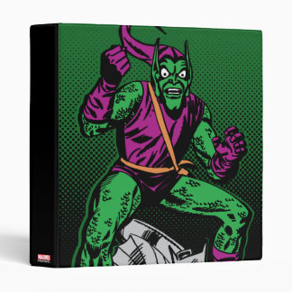 Green Goblin Retro 3 Ring Binders