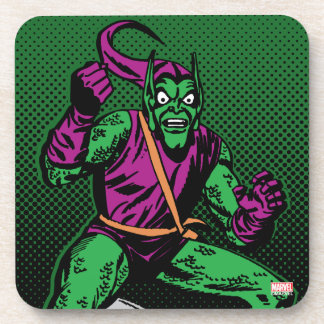 Green Goblin Retro Coaster