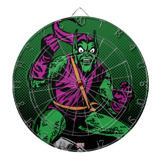 Green Goblin Retro Dartboard