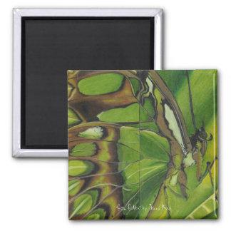 """Green Goddess"" by Jenny Koch Magnet"