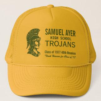 Green & Gold Class of '77 40th Reunion Trojans Trucker Hat