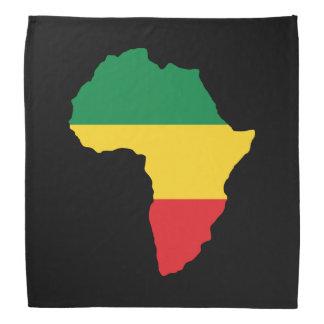 Green, Gold & Red Africa Flag Bandanas