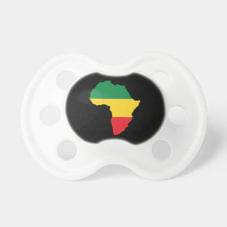 Green, Gold & Red Africa Flag Pacifier