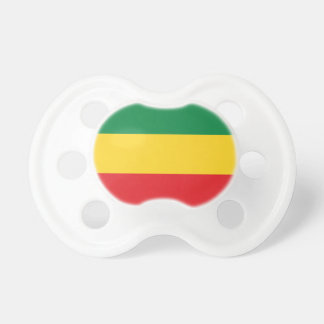 Green, Gold (Yellow) and Red Colors Flag Pacifier