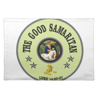 green good samaritan placemat